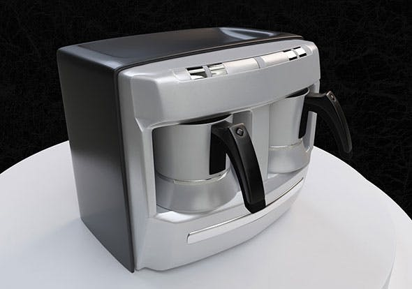 Coffe Machine - 3DOcean Item for Sale