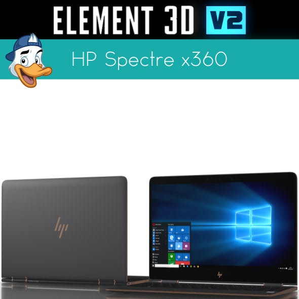 HP Spectre x360 for Element 3D