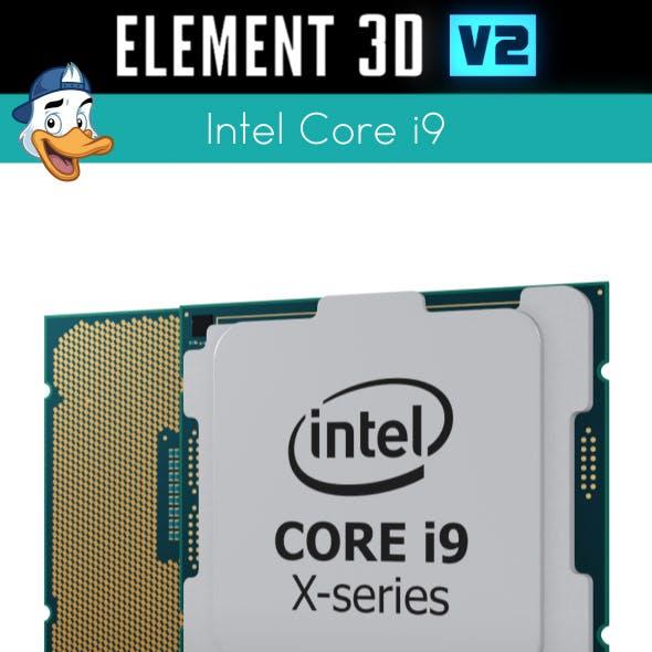 Intel Core i9 for Element 3D
