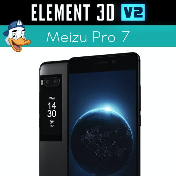 Meizu Pro 7 for Element 3D