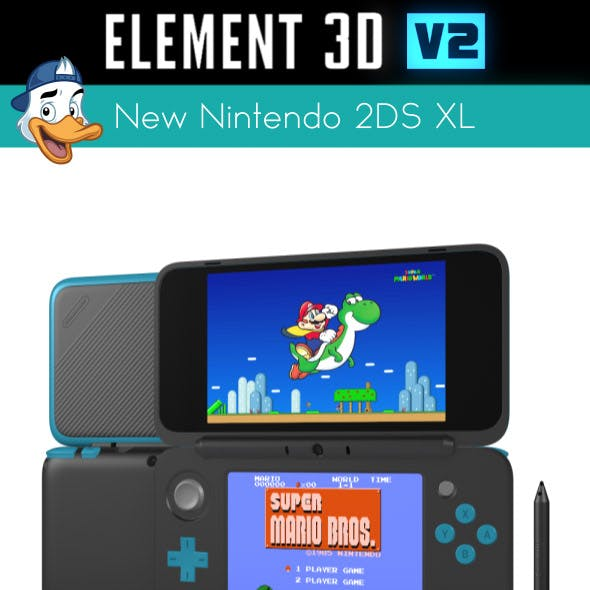 New Nintendo 2DS XL for Element 3D
