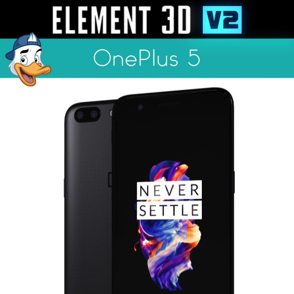 OnePlus 5 for Element 3D