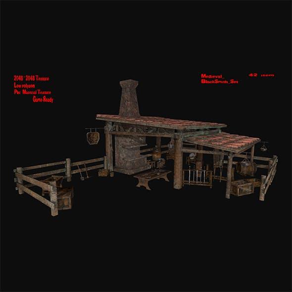 Blacksmith_Set - 3DOcean Item for Sale