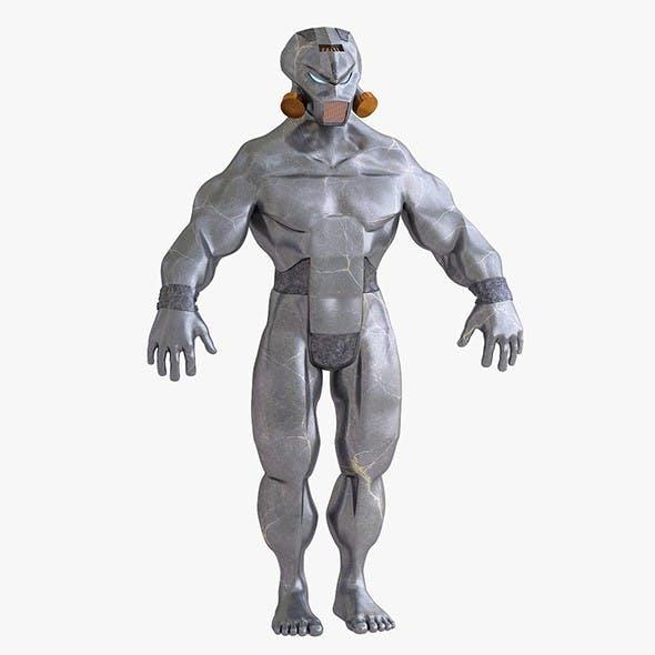 Cyborg savior - 3DOcean Item for Sale