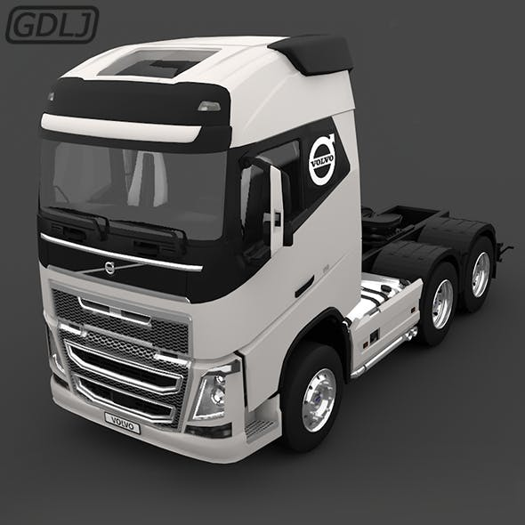 VOLVO FH16 750 Truck 3D Model - 3DOcean Item for Sale