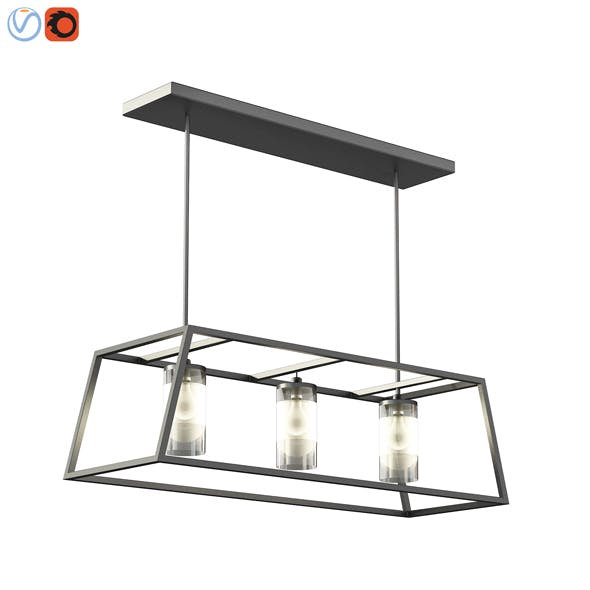 3d Zaire Chandelier - 3DOcean Item for Sale