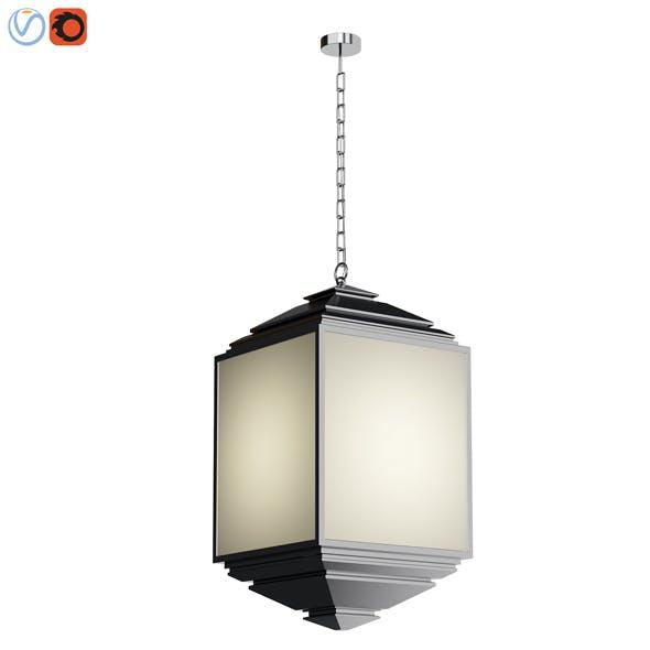 Tivoli Indoor Outdoor Pendant 3d model - 3DOcean Item for Sale