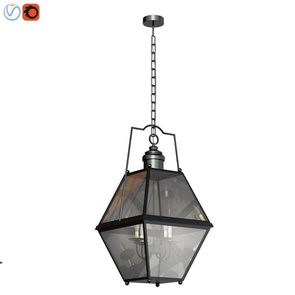 3d model Patina Indoor Outdoor Pendant - 3DOcean Item for Sale