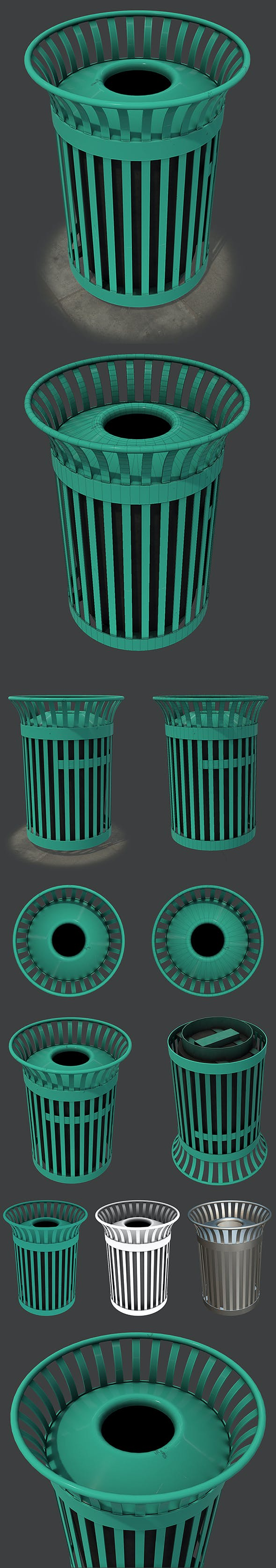 New York Trash Can - 3DOcean Item for Sale
