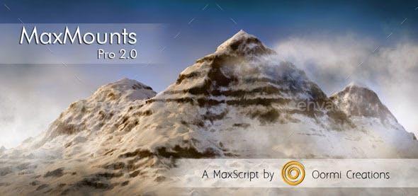 MaxMounts Pro - 3DOcean Item for Sale