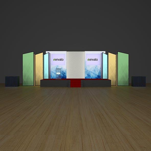 Stage Design - 3DOcean Item for Sale