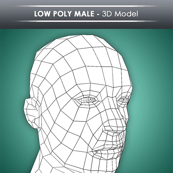 Low Poly Male Base Mesh