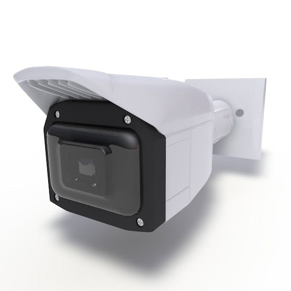 Outdoor 4K Vandal Fixed Network Camera with IR LED - 3DOcean Item for Sale