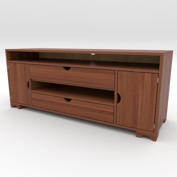 tv stand 4 - 3DOcean Item for Sale
