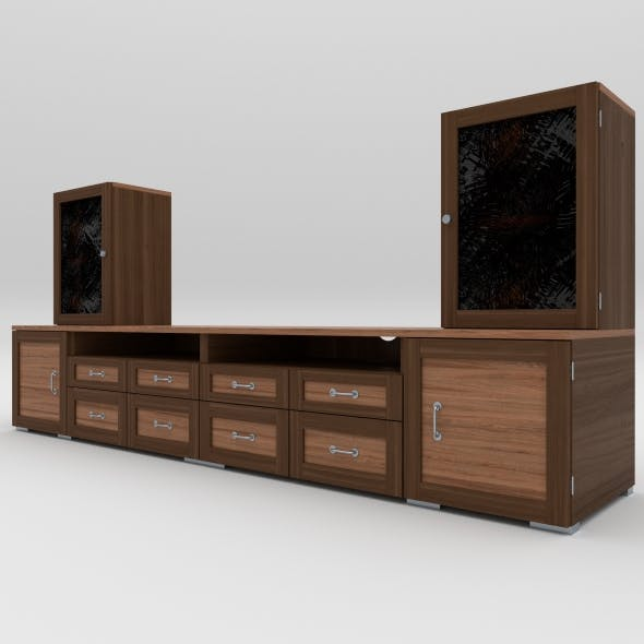 tv stand 5 - 3DOcean Item for Sale