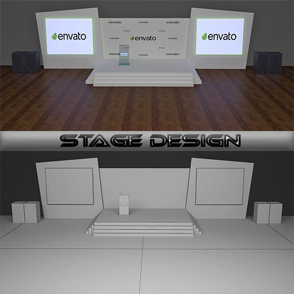 Stage Design - 3DOcean Item for Sale