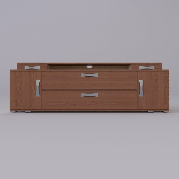 tv stand 7 - 3DOcean Item for Sale