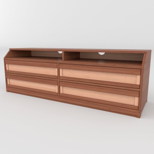tv stand 8 - 3DOcean Item for Sale