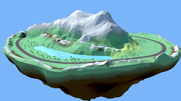 Low Poly Stylised Environment - 3DOcean Item for Sale