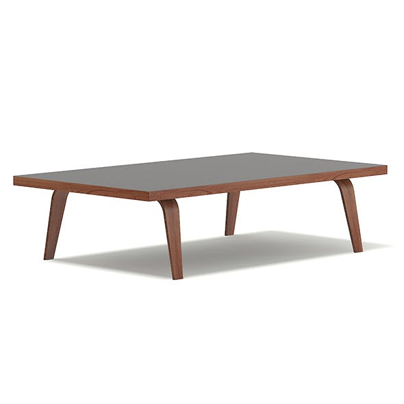 Wooden Coffee Table 3D Model - 3DOcean Item for Sale