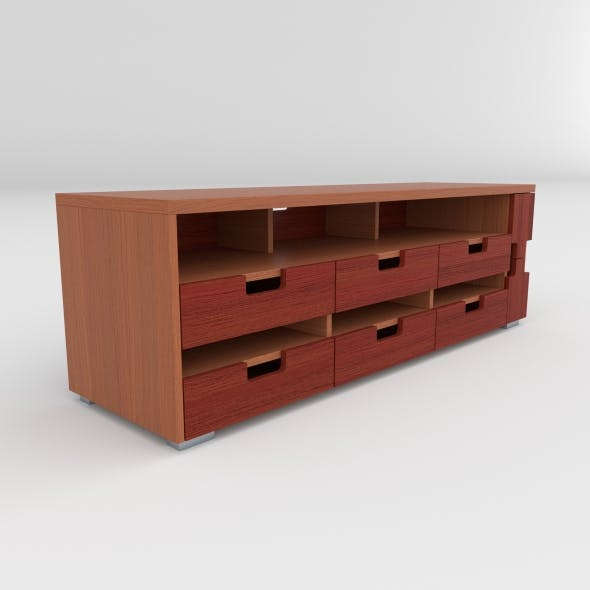 tv stand 11 - 3DOcean Item for Sale