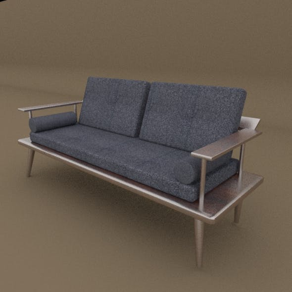 Sofa (Low Poly High Quailty) - 3DOcean Item for Sale