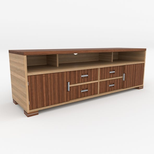 tv stand 13 - 3DOcean Item for Sale