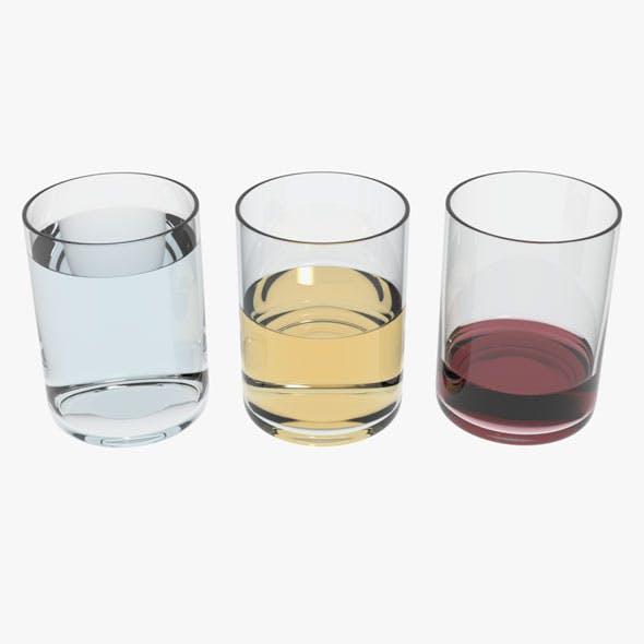 Glass Transparent Liquids - 3DOcean Item for Sale