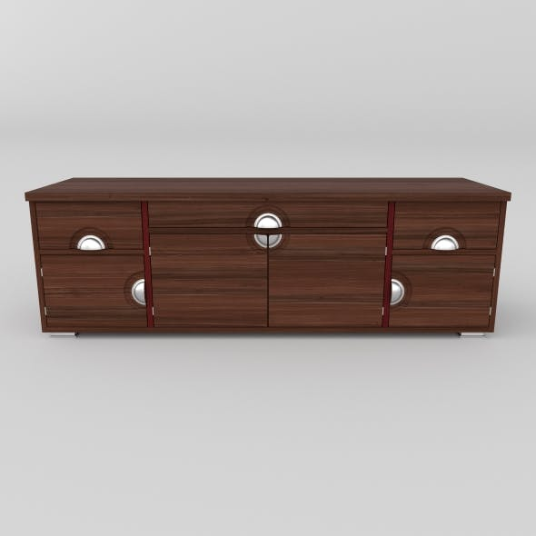 tv stand 17 - 3DOcean Item for Sale