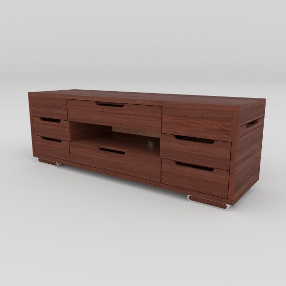 tv stand 21 - 3DOcean Item for Sale