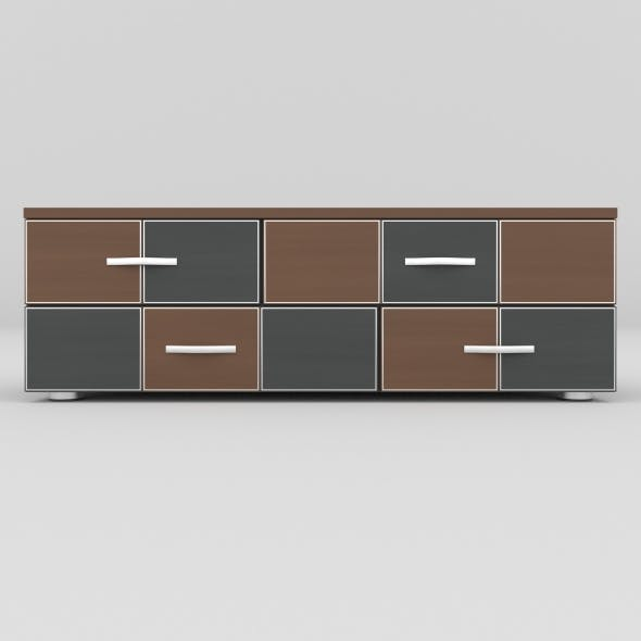 tv stand 23 - 3DOcean Item for Sale