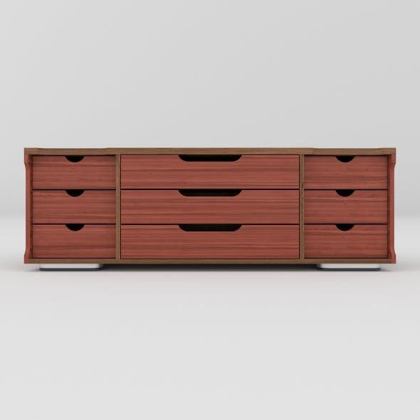 tv stand 24 - 3DOcean Item for Sale