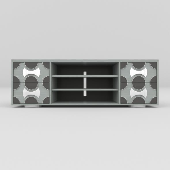 tv stand 27 - 3DOcean Item for Sale