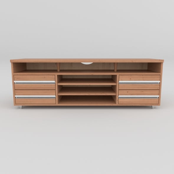 tv stand 28 - 3DOcean Item for Sale