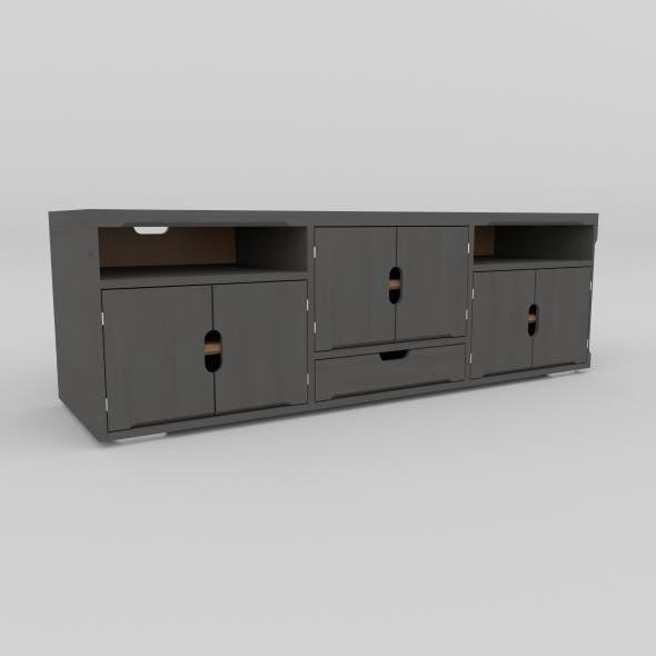 tv stand 30 - 3DOcean Item for Sale