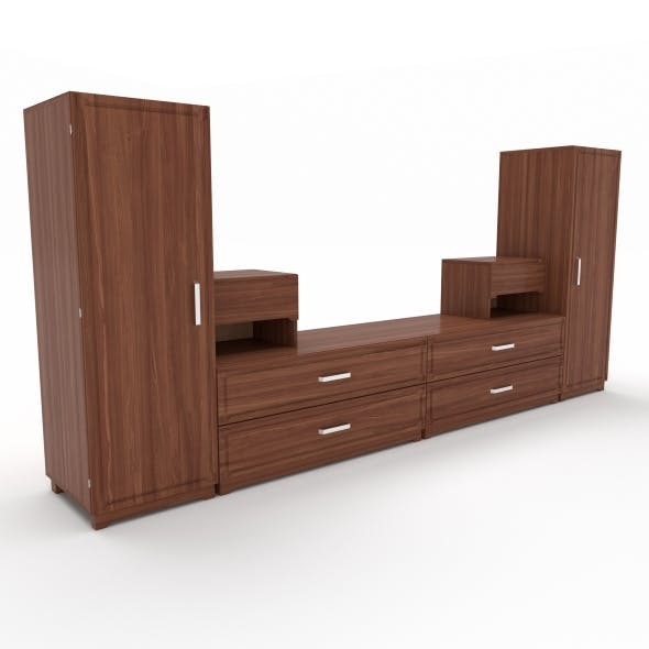 tv stand 31 - 3DOcean Item for Sale
