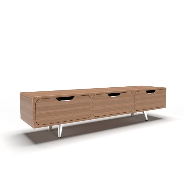 tv stand 32 - 3DOcean Item for Sale