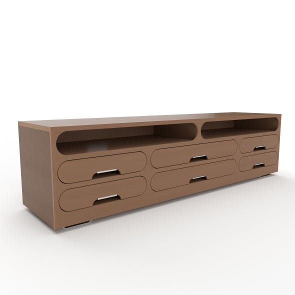 tv stand 33 - 3DOcean Item for Sale