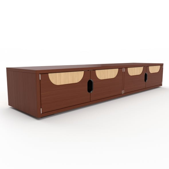 tv stand 34 - 3DOcean Item for Sale