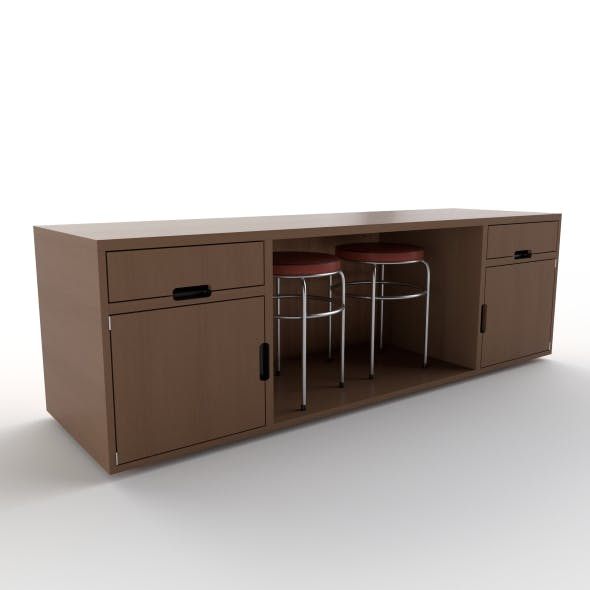 tv stand 35 - 3DOcean Item for Sale