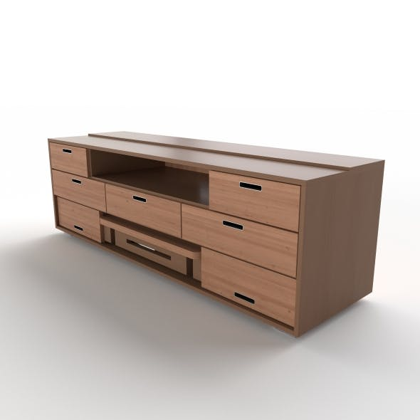 tv stand 36 - 3DOcean Item for Sale