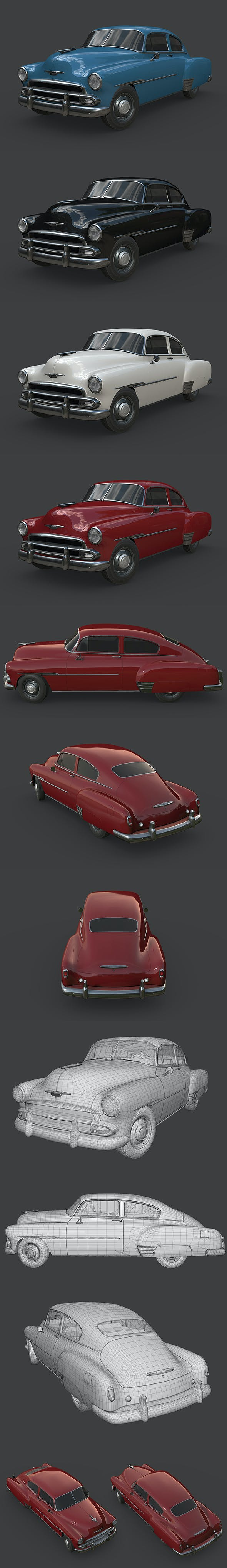 Chevrolet Fleetline 1951 - 3DOcean Item for Sale