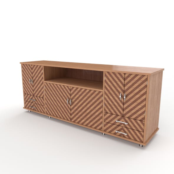 tv stand 42 - 3DOcean Item for Sale