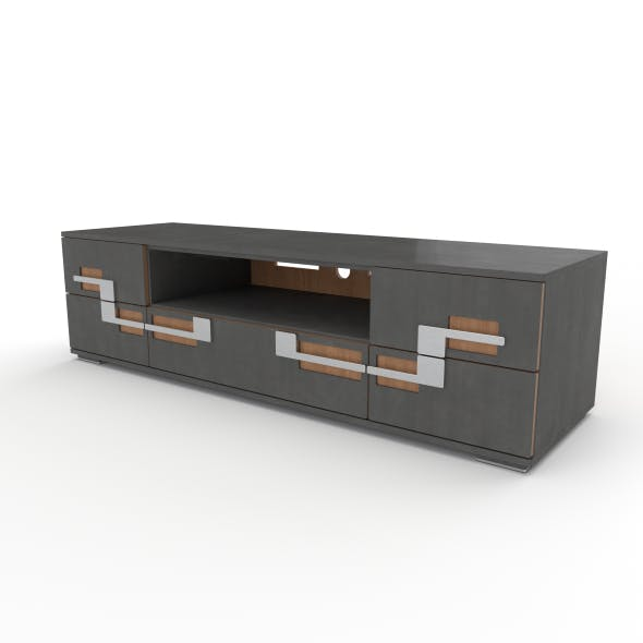 tv stand 43 - 3DOcean Item for Sale