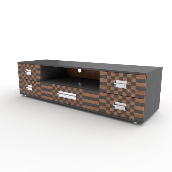 tv stand 44 - 3DOcean Item for Sale