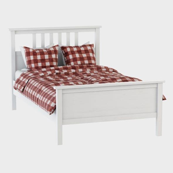Bed Hemnes Ikea - 3DOcean Item for Sale