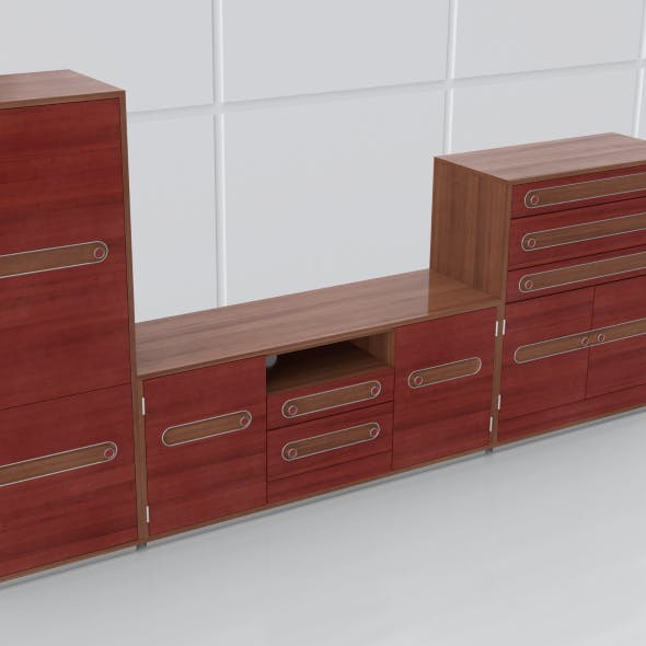 tv stand 46 - 3DOcean Item for Sale