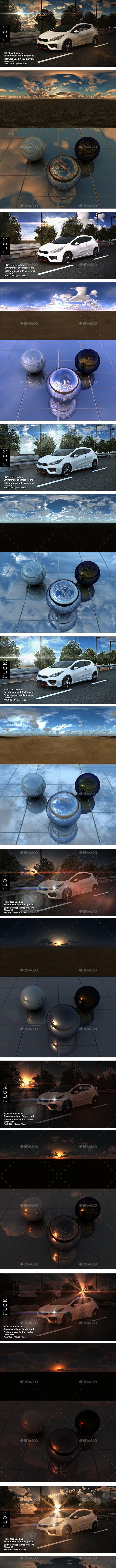 Skyline MegaPack - 3DOcean Item for Sale