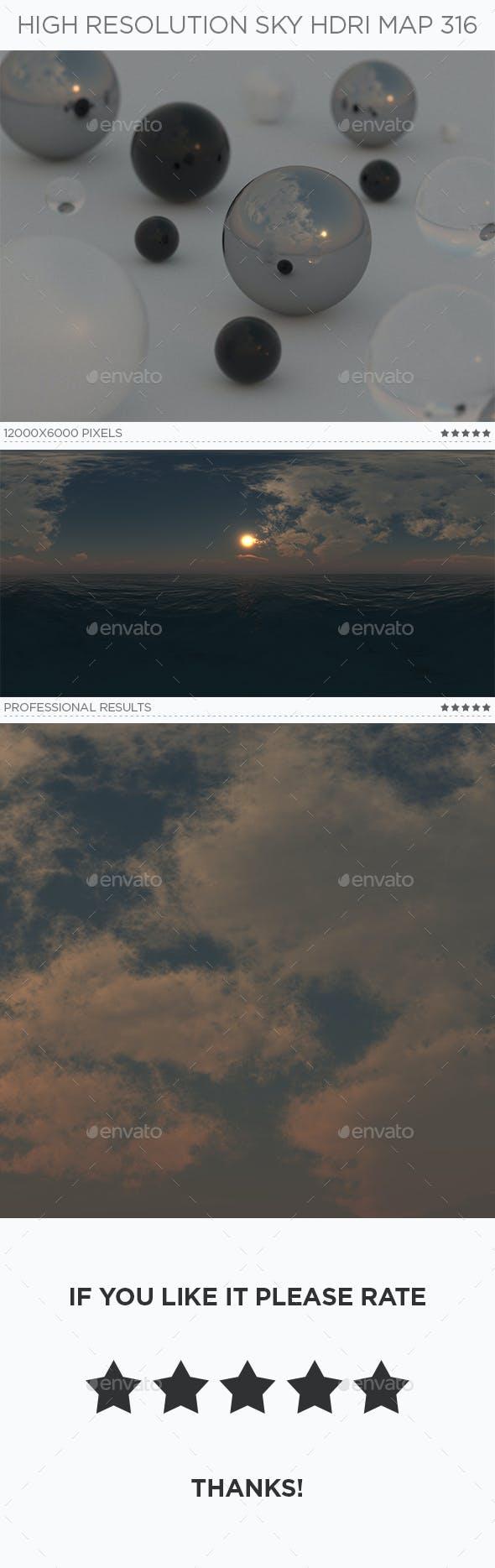 High Resolution Sky HDRi Map 316 - 3DOcean Item for Sale
