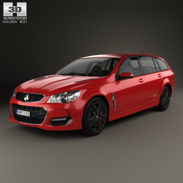 Holden Commodore SS-V Redline Sportwagon 2015 - 3DOcean Item for Sale